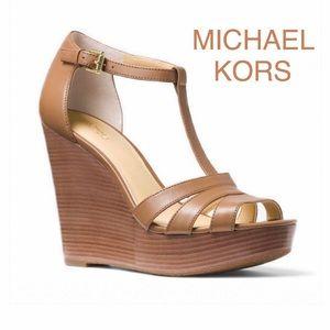 Michael Kors • NWB Sable Wedge Sandals